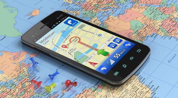 地図を利用したスマートフォンのアプリケーション